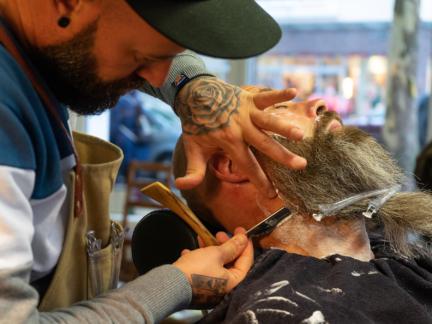 18′ the barbershop